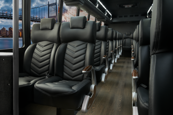 Executive Coach Bus Interior